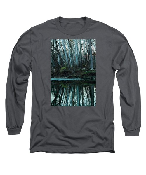 Mirrored Long Sleeve T-Shirt by Bruce Patrick Smith