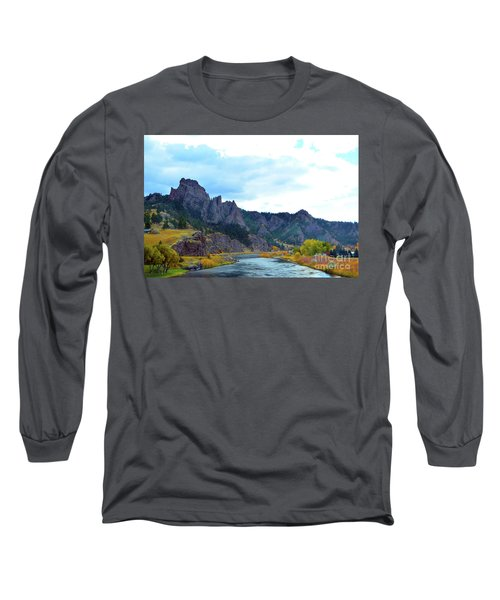 Missouri River Colors Long Sleeve T-Shirt