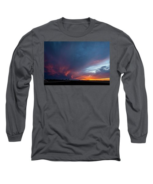Missouri Sunset Long Sleeve T-Shirt