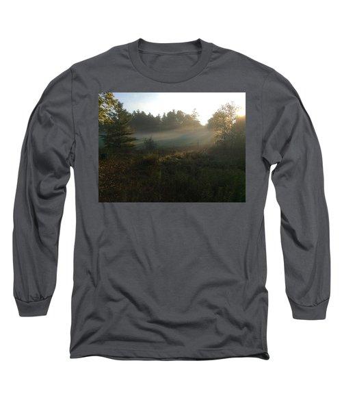 Mist In The Meadow Long Sleeve T-Shirt