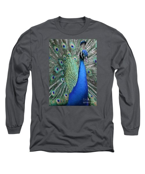 Mister Peacock Long Sleeve T-Shirt
