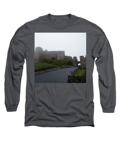 Misty Bamburgh Castle Long Sleeve T-Shirt