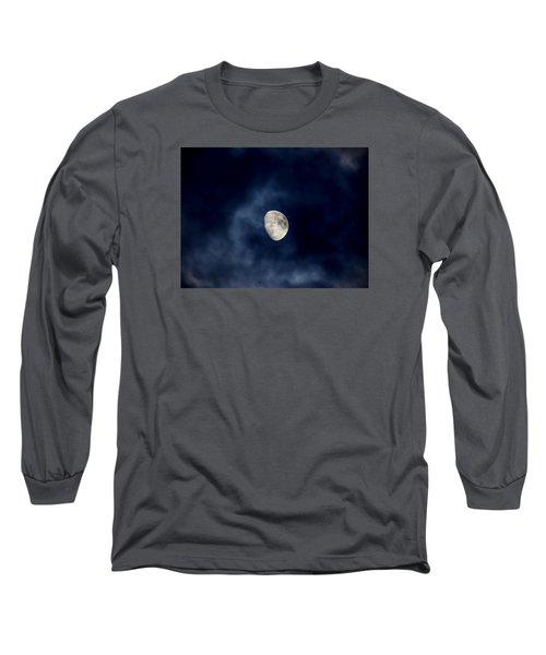 Blue Vapor Long Sleeve T-Shirt by Glenn Feron