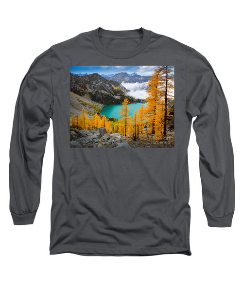 Misty Colchuck Lake Long Sleeve T-Shirt