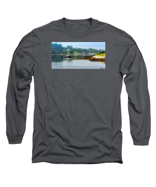 Misty Morning Long Sleeve T-Shirt by Ken Morris