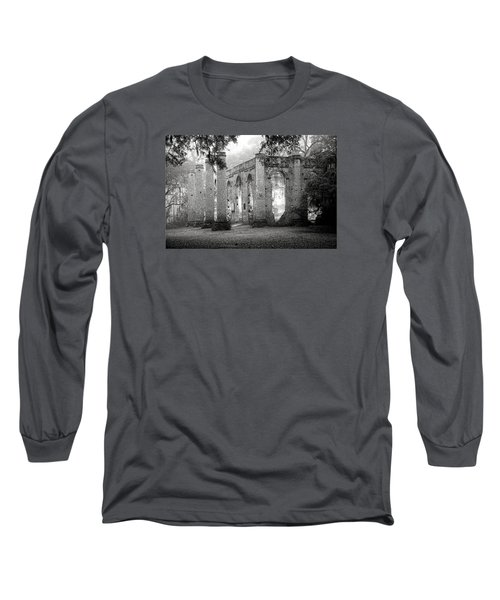 Misty Ruins Long Sleeve T-Shirt