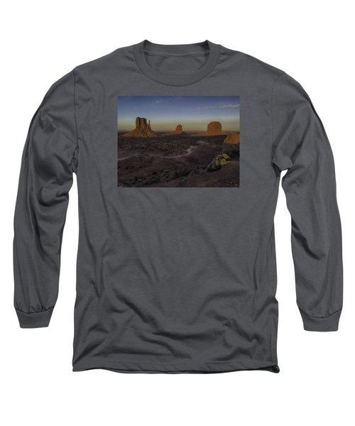 Mittens Morning Greeting Long Sleeve T-Shirt
