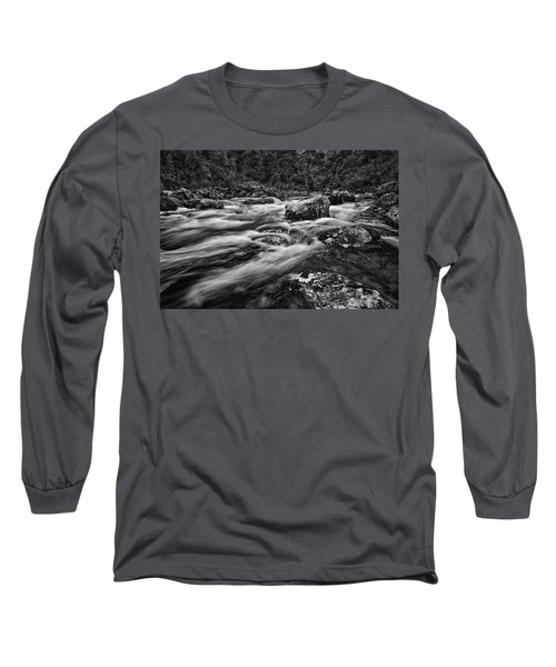 Mixed Emotions Long Sleeve T-Shirt by Mark Lucey