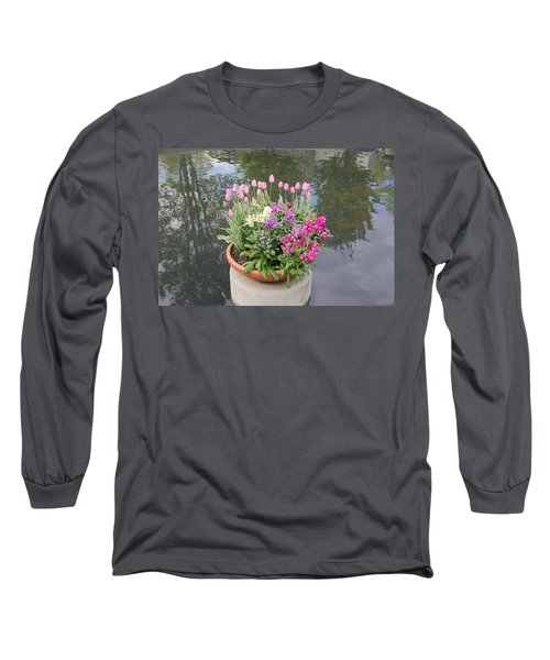 Mixed Flower Planter Long Sleeve T-Shirt