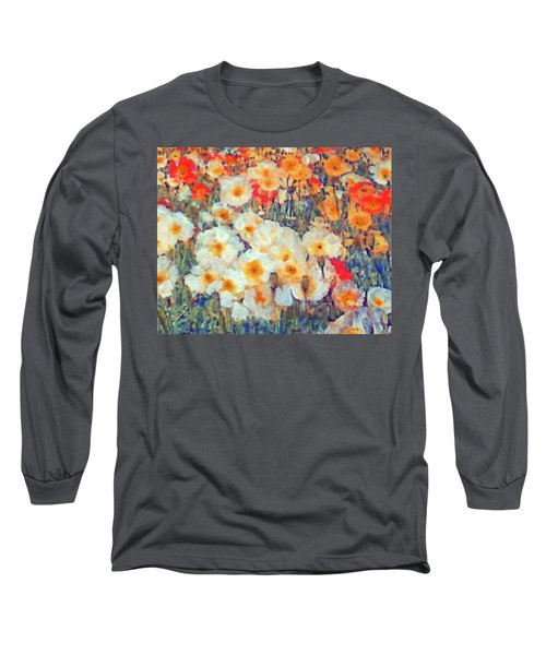 Mixed Poppies Long Sleeve T-Shirt
