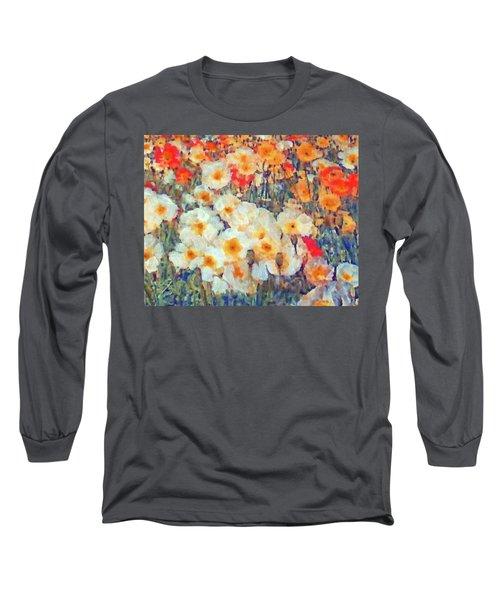 Mixed Poppies Long Sleeve T-Shirt