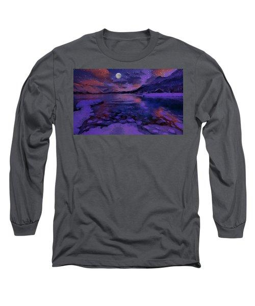 Mnon Over The Frozen Lands Long Sleeve T-Shirt