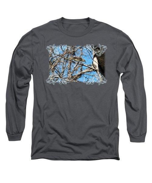 Mockingbird Long Sleeve T-Shirt by Katherine Nutt