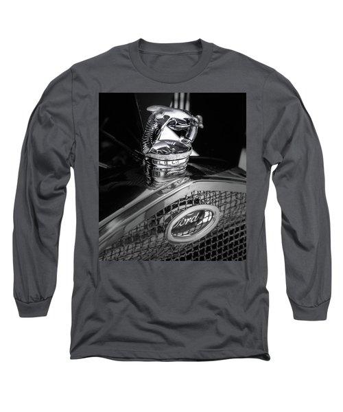 Model A Quail Long Sleeve T-Shirt
