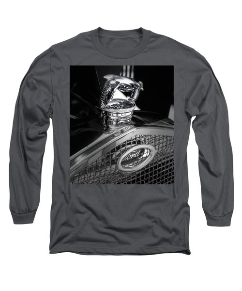 Model A Quail Long Sleeve T-Shirt