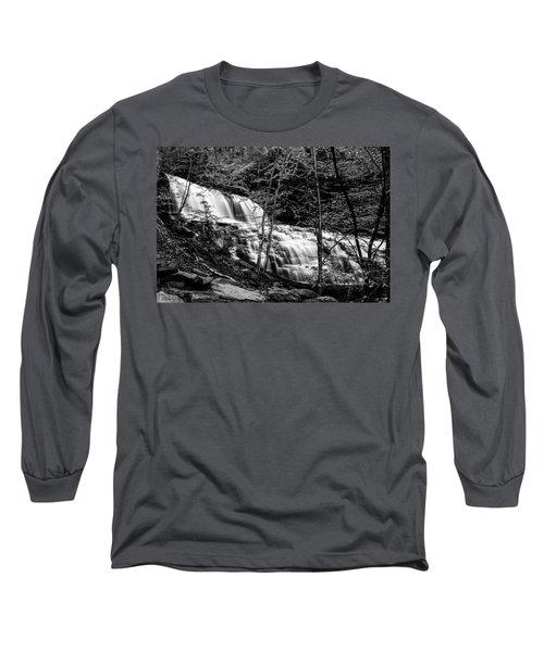 Mohawk Falls - 8617 Long Sleeve T-Shirt by G L Sarti