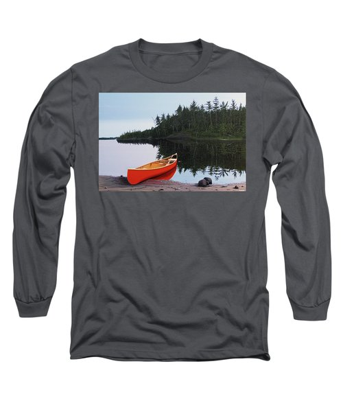 Moments Of Peace Long Sleeve T-Shirt by Kenneth M  Kirsch