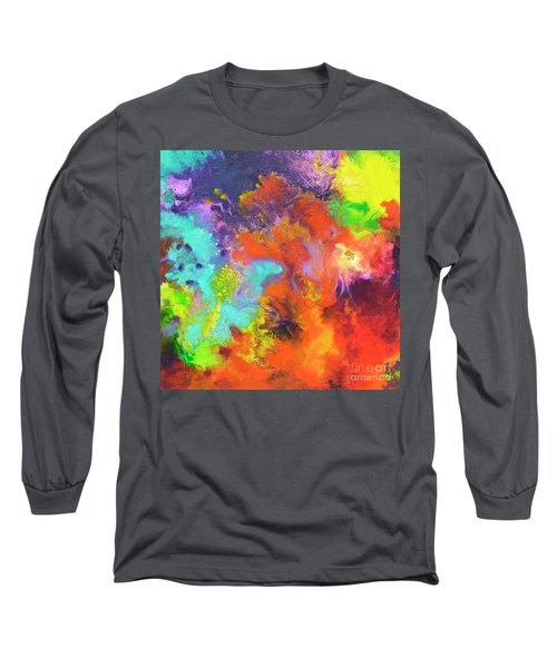 Momentum, Canvas Three Long Sleeve T-Shirt