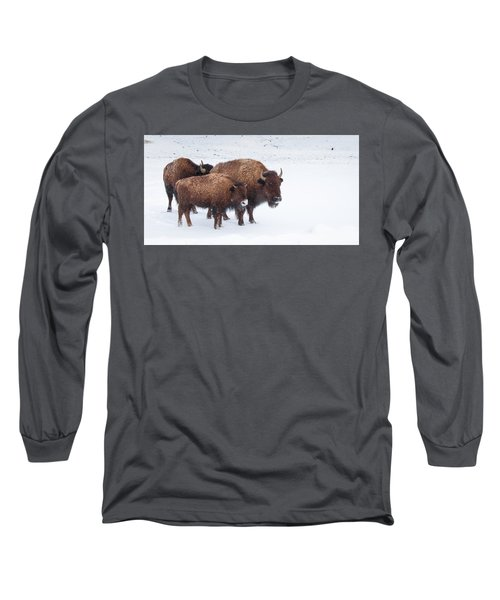 Momma And The Baby Long Sleeve T-Shirt