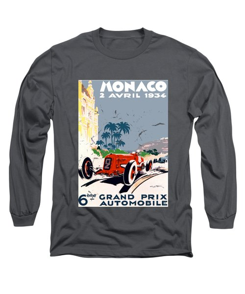 Monaco 1934 Long Sleeve T-Shirt