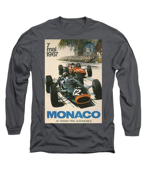 Monaco Grand Prix 1967 Long Sleeve T-Shirt