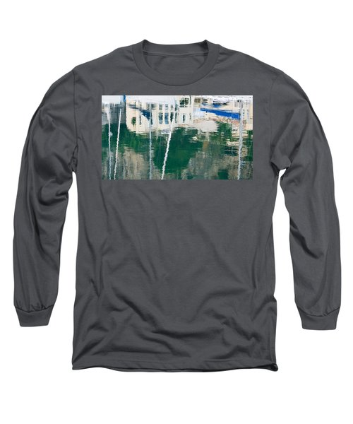 Long Sleeve T-Shirt featuring the photograph Monaco Reflection by Keith Armstrong