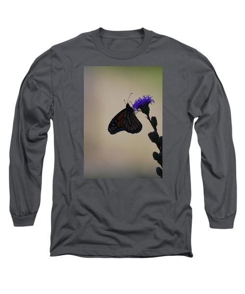 Long Sleeve T-Shirt featuring the photograph Monarch Beauty by Ramona Whiteaker