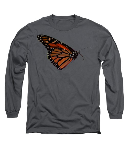 Monarch Butterfly No.41 Long Sleeve T-Shirt by Mark Myhaver