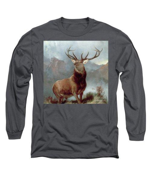 Monarch Of The Glen Long Sleeve T-Shirt