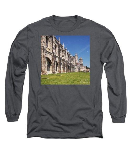 Monastery Of The Hieronymites Lisbon 3 Long Sleeve T-Shirt
