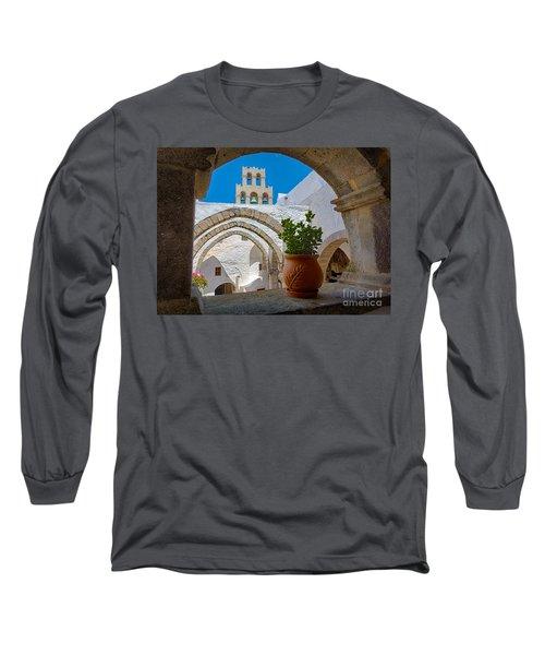 Monastery Window Long Sleeve T-Shirt