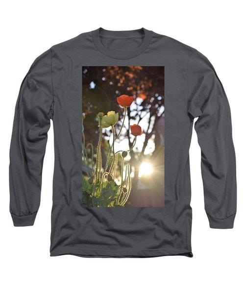 Monday Morning Sunrise Long Sleeve T-Shirt by John Glass