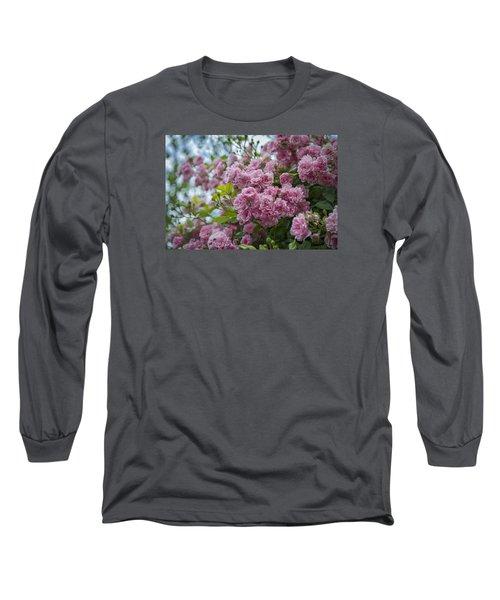 Monet's Roses Long Sleeve T-Shirt