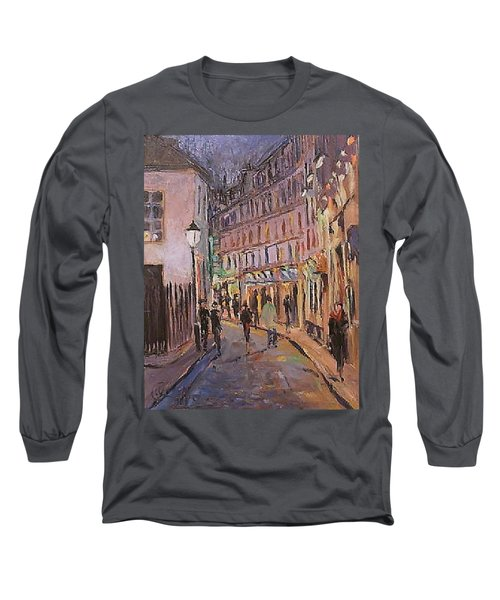 Monmartre Long Sleeve T-Shirt by Walter Casaravilla