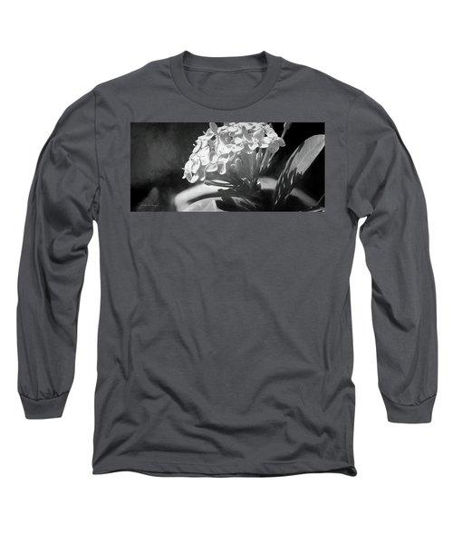 Monochrome Flora Long Sleeve T-Shirt