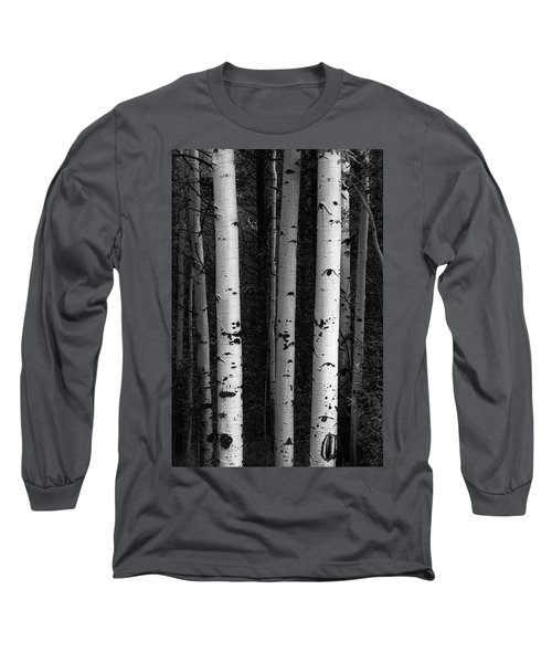 Long Sleeve T-Shirt featuring the photograph Monochrome Wilderness Wonders by James BO Insogna