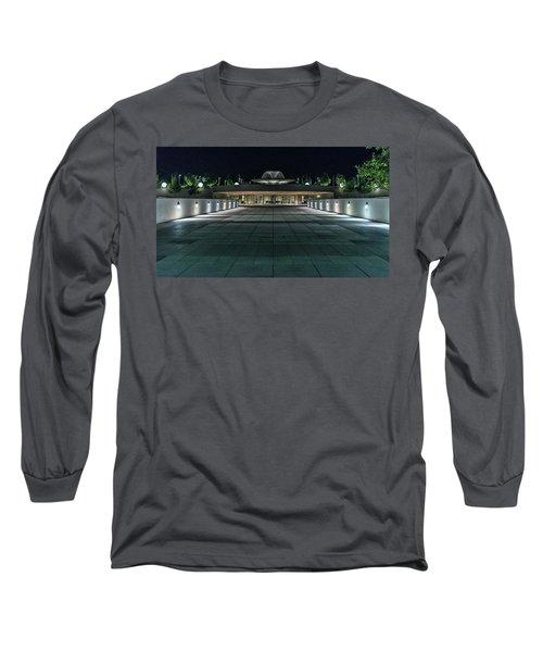 Monona Terrace Long Sleeve T-Shirt by Randy Scherkenbach