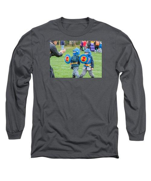 Monster Dash 11 Long Sleeve T-Shirt by Brian MacLean