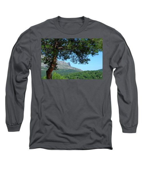 Long Sleeve T-Shirt featuring the photograph Mont Puget Marseille by August Timmermans