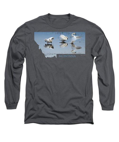 Montana- Swan Ballet Long Sleeve T-Shirt