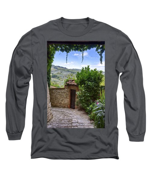 Montefioralle, Tuscany Long Sleeve T-Shirt