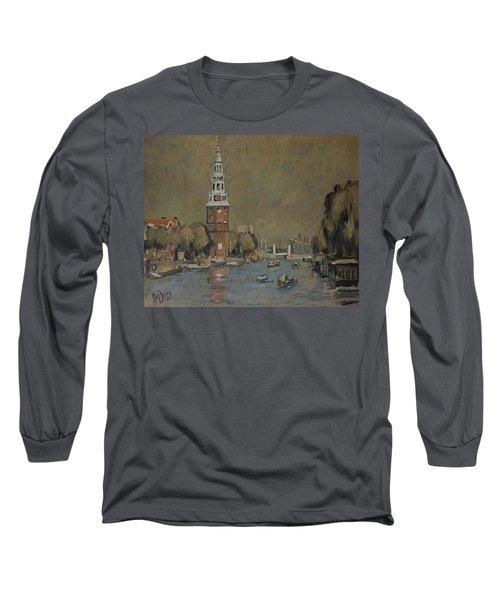 Montelbaanstoren Amsterdam Long Sleeve T-Shirt
