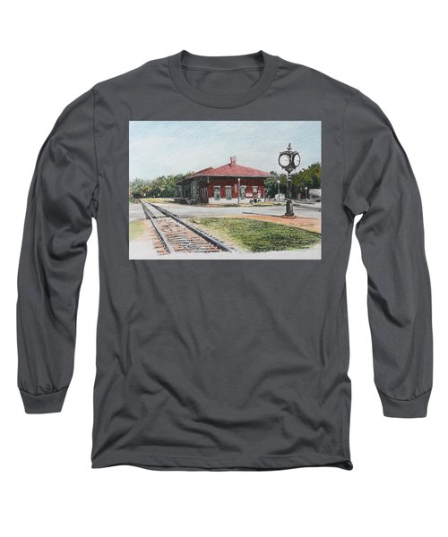 Montezuma Train Depot Long Sleeve T-Shirt
