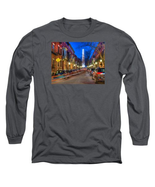 Monument Street Charlestown 023 Long Sleeve T-Shirt