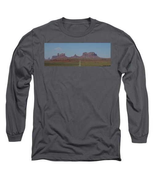 Long Sleeve T-Shirt featuring the photograph Monument Valley Navajo Tribal Park by Christopher Kirby