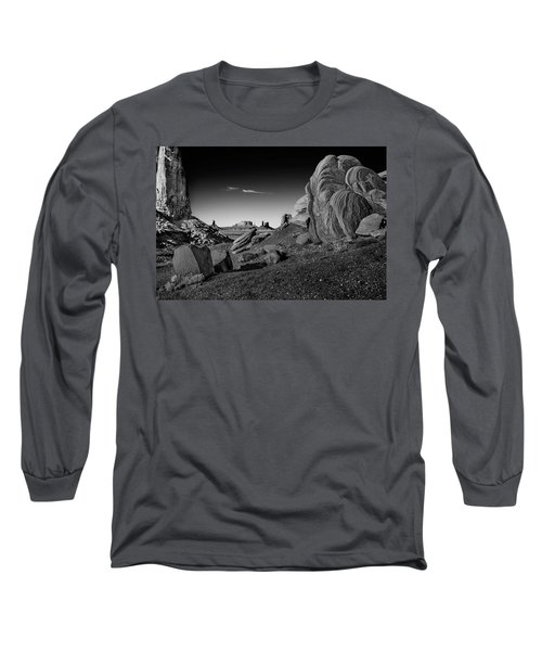 Monument Valley Rock Formations Long Sleeve T-Shirt