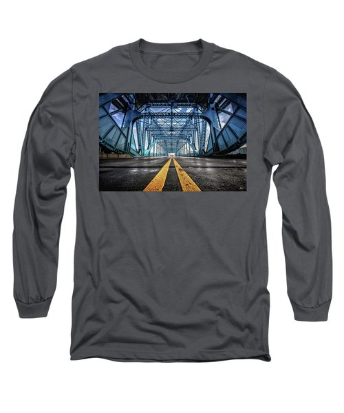 Monumental Market Street Long Sleeve T-Shirt by Steven Llorca
