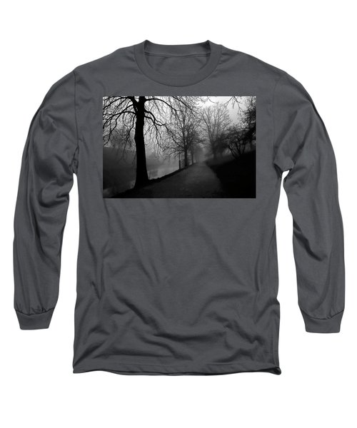 Moody And Misty Morning Long Sleeve T-Shirt by Inge Riis McDonald