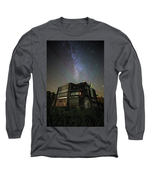 Moody Trucking Long Sleeve T-Shirt