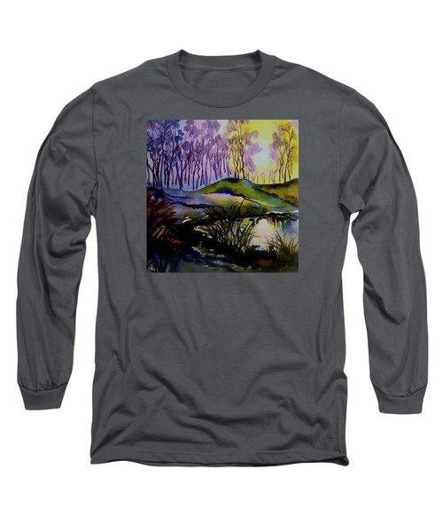 Moody Woods Long Sleeve T-Shirt